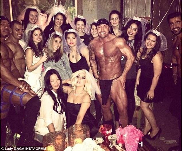 mannelijke stripper op bachelorette party